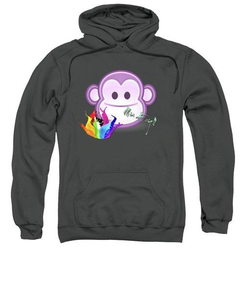 Cute Gorilla Baby Sweatshirt by Maria Astedt