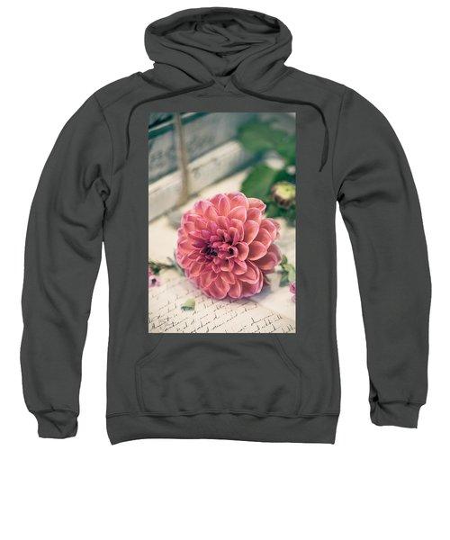 Dahlia Bloom Sweatshirt