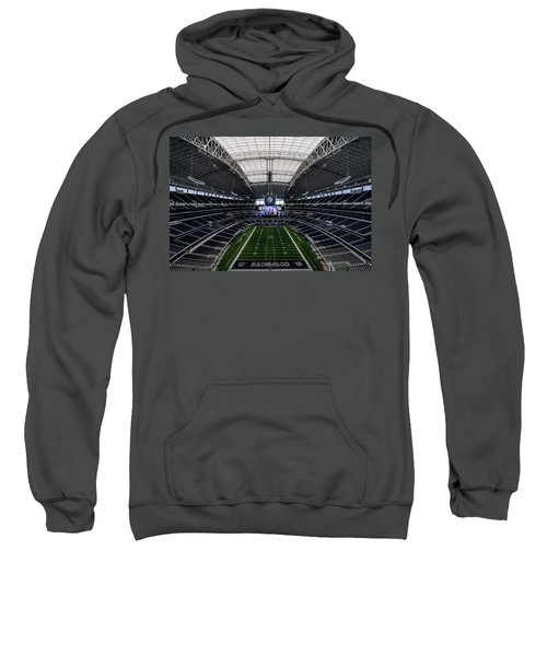 Dallas Cowboys Stadium End Zone Sweatshirt