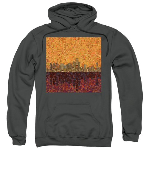 Dallas Skyline Abstract Sweatshirt