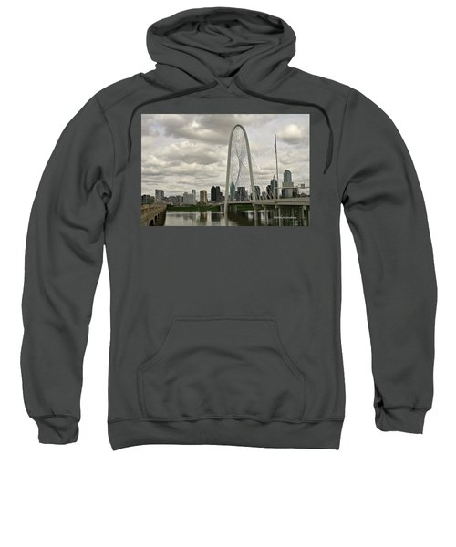 Dallas Suspension Bridge Sweatshirt