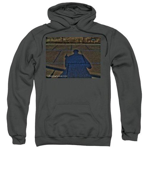 Damn Shadow Figure Sweatshirt