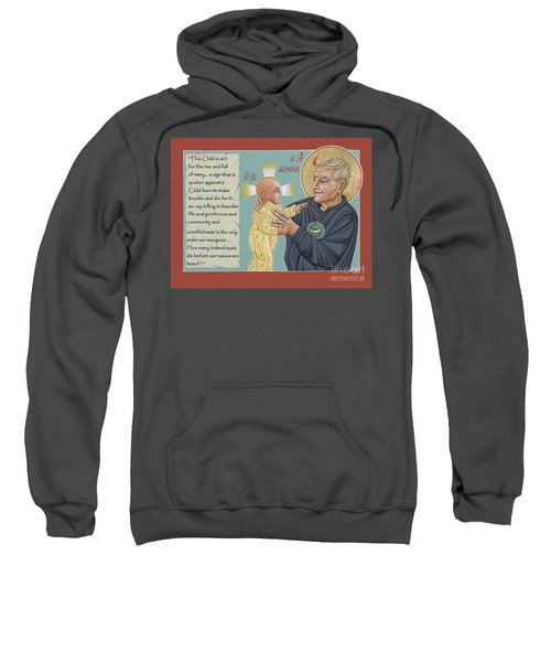 Holy Prophet Daniel Berrigan 291  Sweatshirt