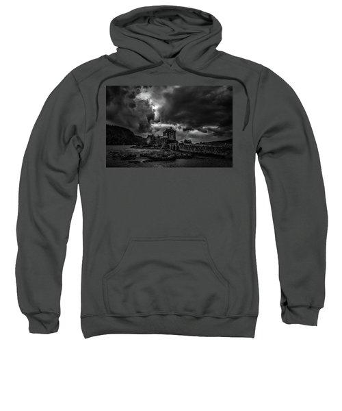 Dark Clouds Bw #h2 Sweatshirt