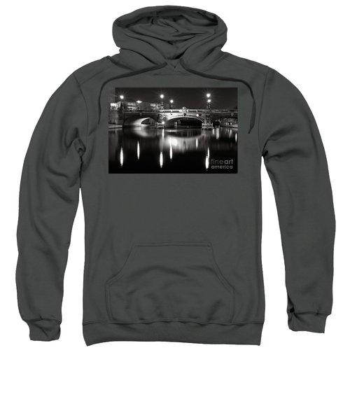 Dark Nocturnal Sound Of Silence Sweatshirt