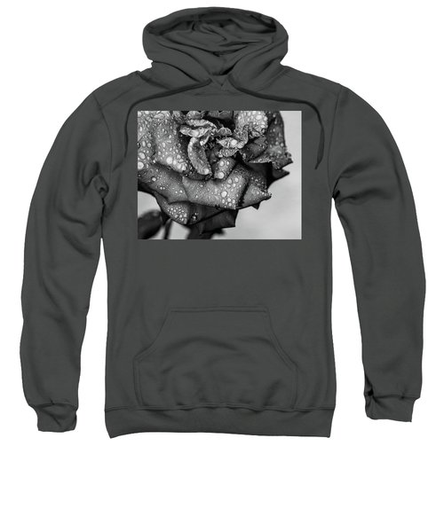 Dark Wet Rose Sweatshirt
