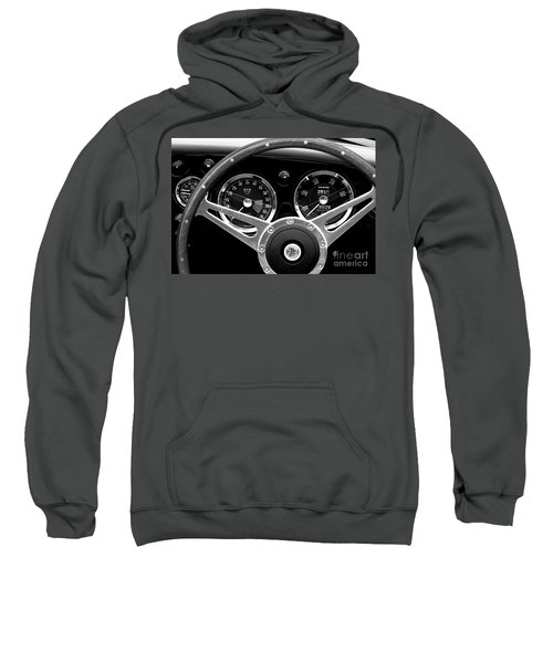 Sweatshirt featuring the photograph Dashboard by Stephen Mitchell