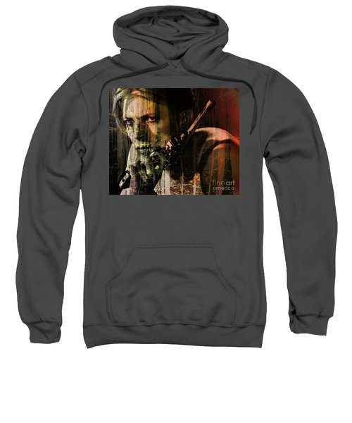 David Bowie / The Man Who Fell To Earth  Sweatshirt
