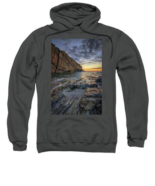 Dawn At Bald Head Cliff Sweatshirt