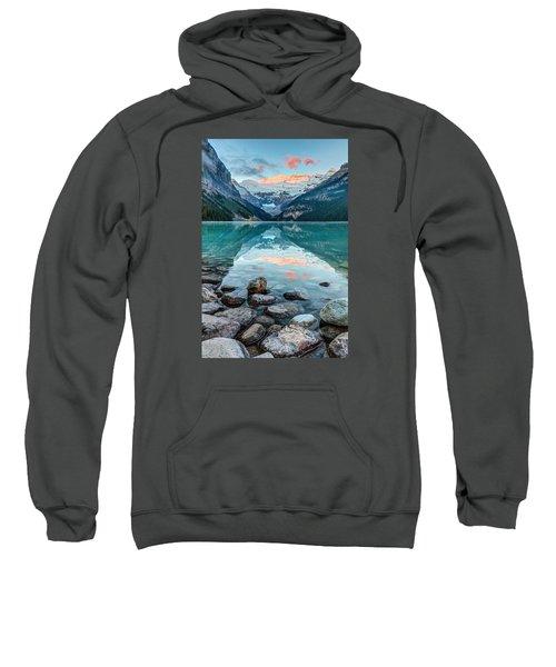 Dawn At Lake Louise Sweatshirt