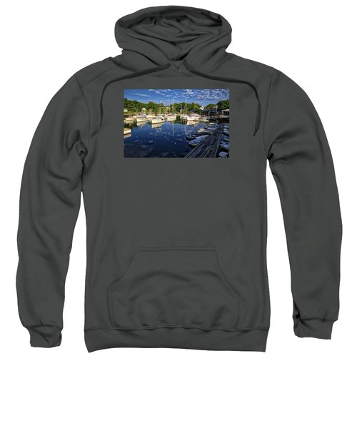Dawn At Perkins Cove - Maine Sweatshirt