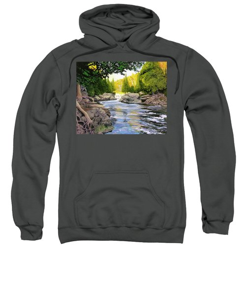 Dawn On The River Sweatshirt