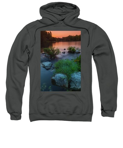 Daybreak Over The Old Riverbed Sweatshirt