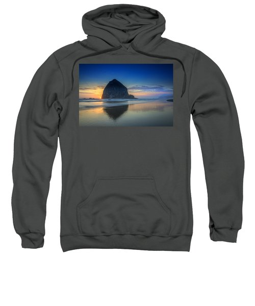 Day's End In Cannon Beach Sweatshirt