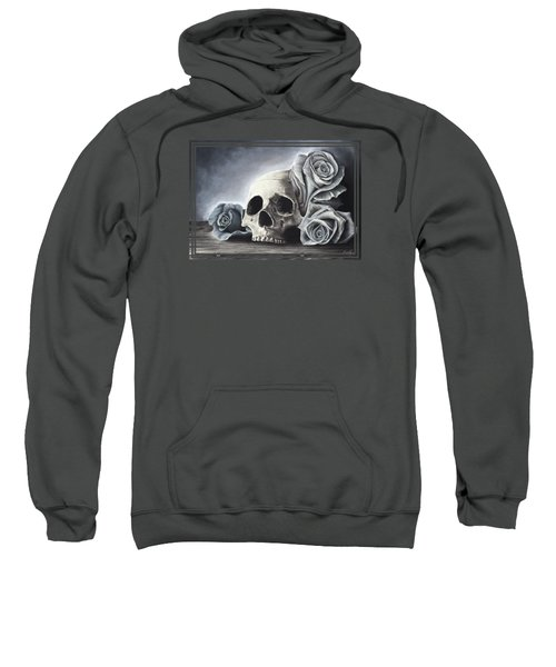 Death By The Rose Sweatshirt