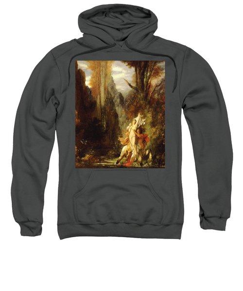 Dejanira  Autumn Sweatshirt by Gustave Moreau