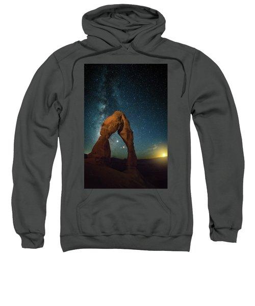 Delicate Arch Moonset Sweatshirt