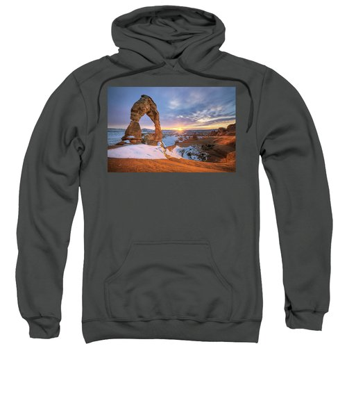 Delicate Arch Winter Sweatshirt