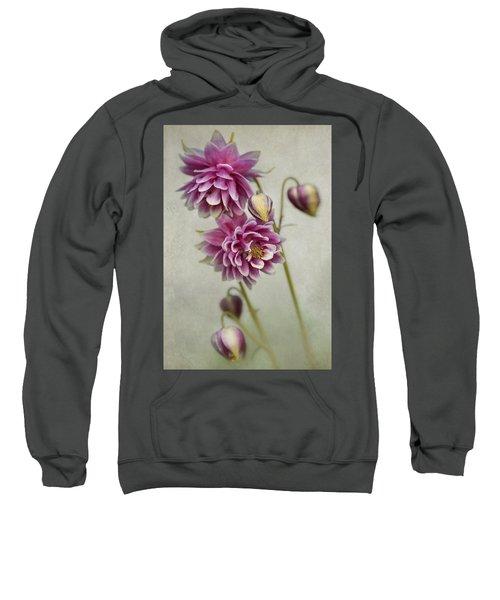 Delicate Pink Columbine Sweatshirt