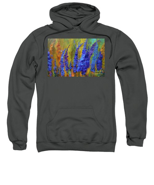 Delphiniums Sweatshirt
