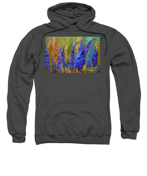 Delphiniums Sweatshirt