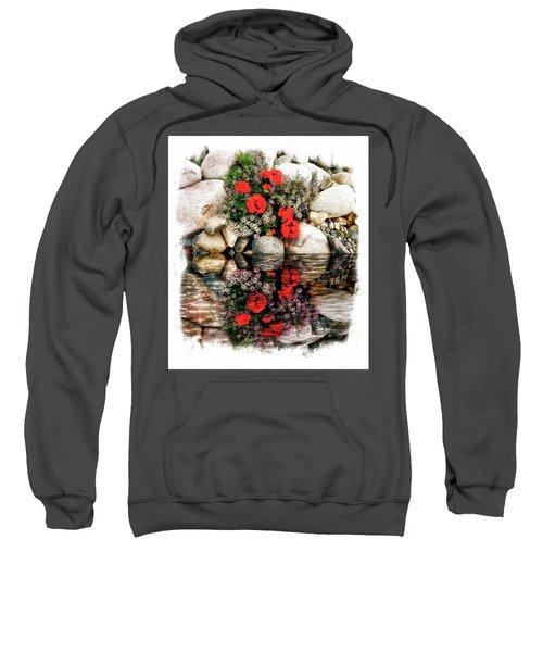 Denali National Park Flowers Sweatshirt