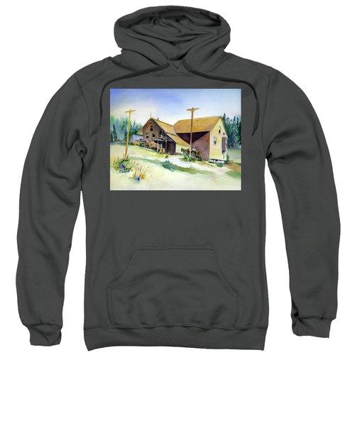 Depot Hill, Dutch Flat,1910 Sweatshirt