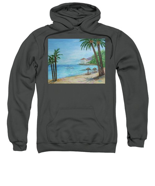 Descanso Beach, Catalina Sweatshirt