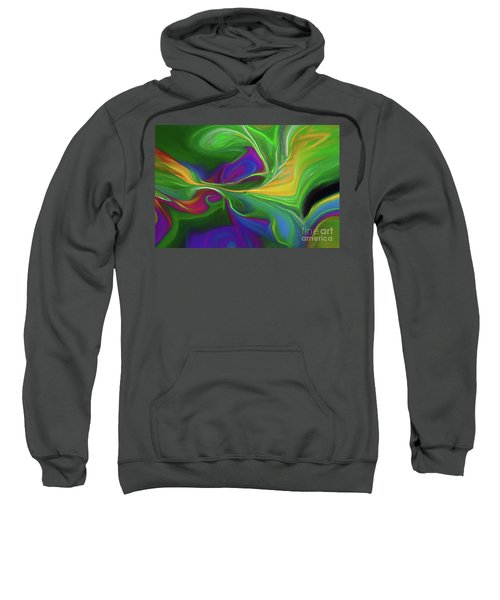Descending Into Darkness Sweatshirt