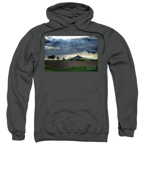 Desenberg Castle Ruins Under The Sunbeams Sweatshirt