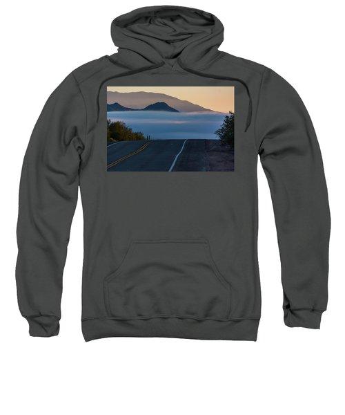 Desert Inversion Highway Sweatshirt