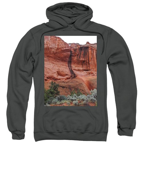 Desert Varnish Along Burr Trail Sweatshirt