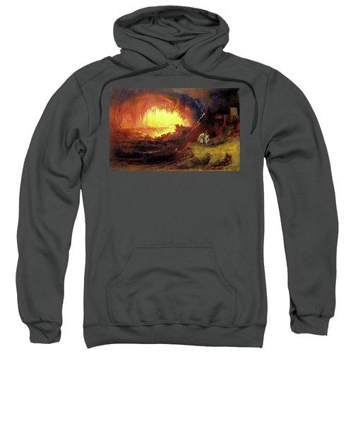 Destruction Of Sodom And Gomorah Sweatshirt