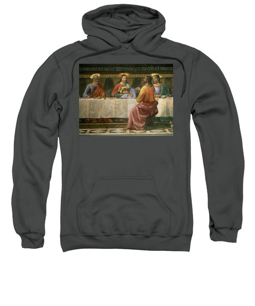 Detail From The Last Supper Sweatshirt