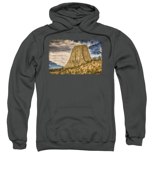 Devils Tower Inspiration 3 Sweatshirt