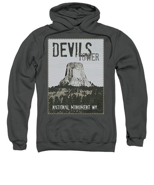 Devils Tower Stamp Sweatshirt