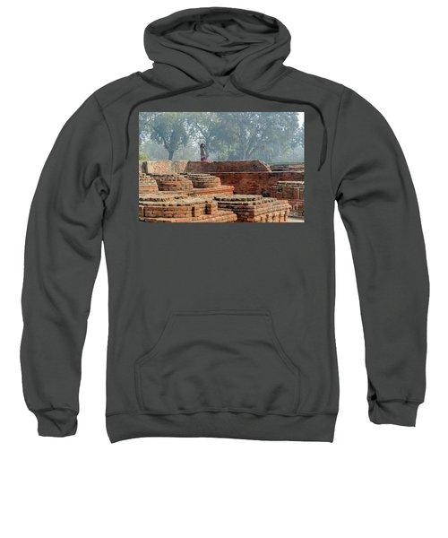 Dharma Chakra Jinavihara 02 Sweatshirt