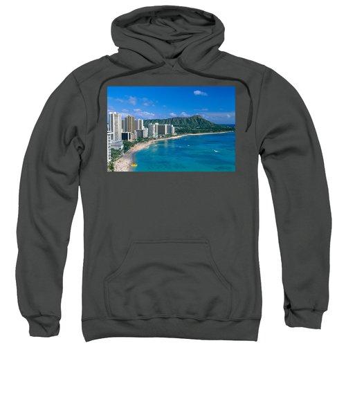 Diamond Head And Waikiki Sweatshirt