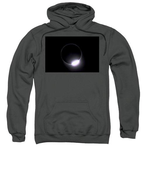 Diamond Ring During Solar Eclipse Sweatshirt