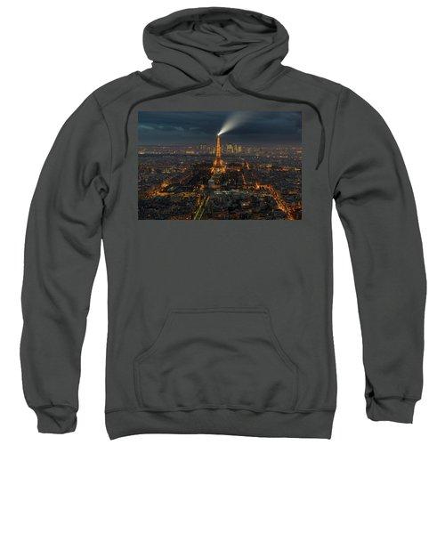 Didn't Know Paris Has A Skyline Sweatshirt by Alex Aves
