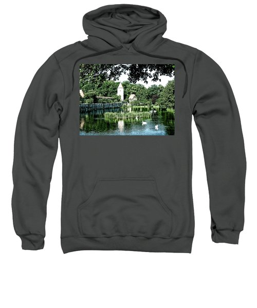 Dinkelsbuhl And Rothenburg Pond Sweatshirt