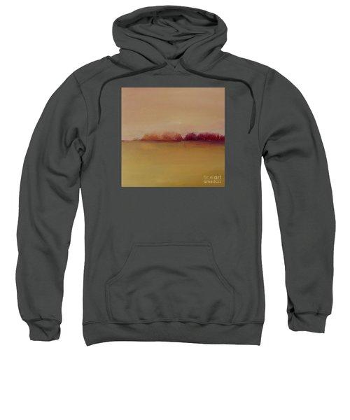 Distant Red Trees Sweatshirt