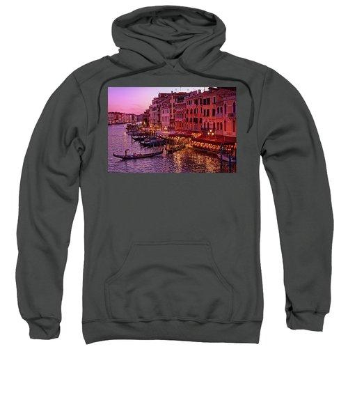 Magical, Venetian Blue Hour Sweatshirt