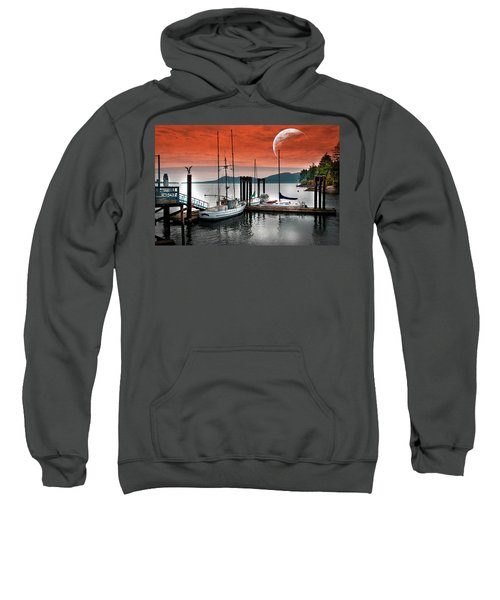 Dock And The Moon Sweatshirt