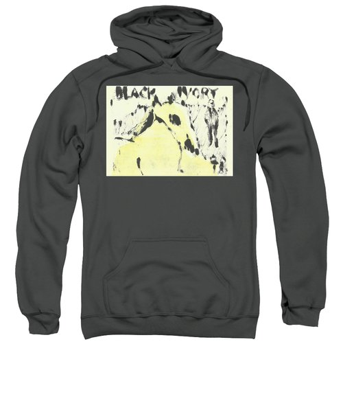 Dog At The Beach - Black Ivory 1 Sweatshirt