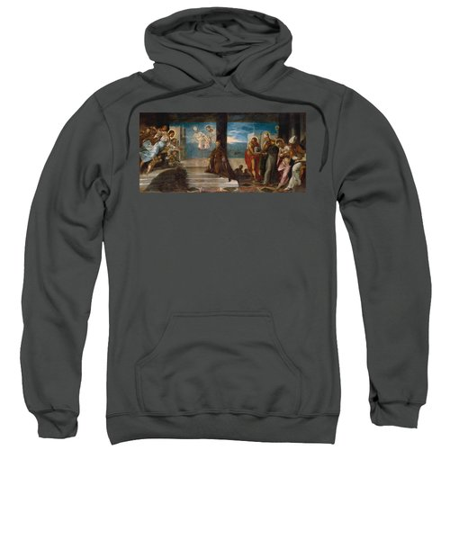 Doge Alvise Mocenigo Presented To The Redeemer Sweatshirt