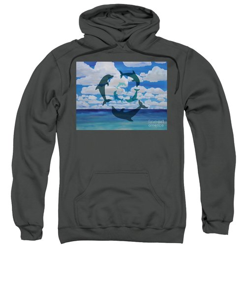 Dolphin Cloud Dance Sweatshirt