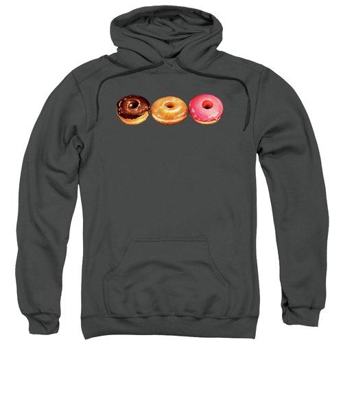 Donut Pattern Sweatshirt