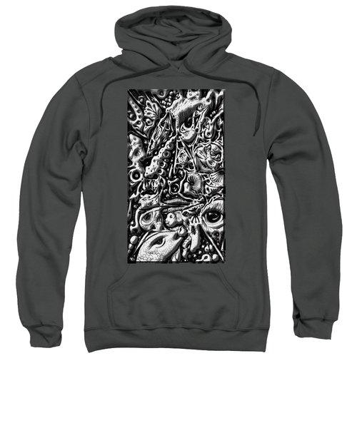 Doodle Emboss Sweatshirt