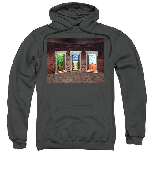Door Number Three Sweatshirt